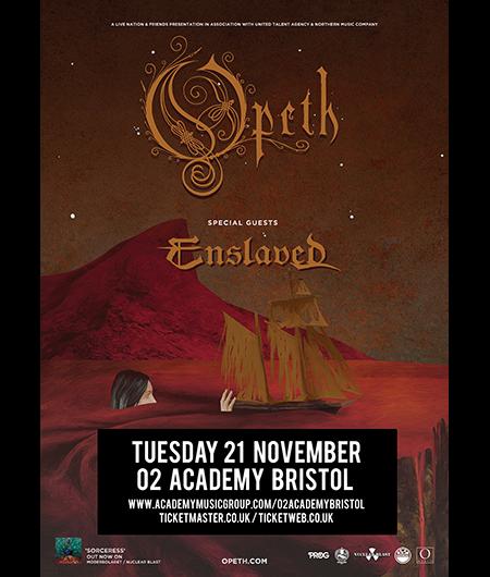 Opeth Enslaved Tour